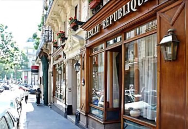 Hôtel Meslay République, Paris, Hotel Front