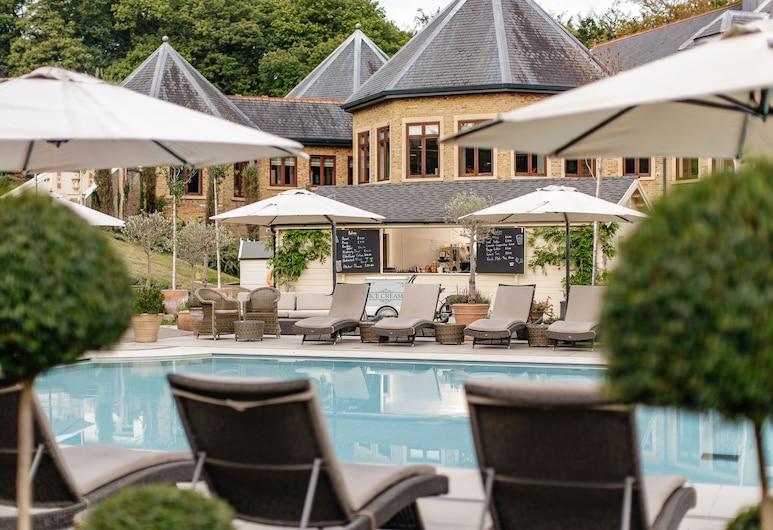 Pennyhill Park Hotel And Spa, Bagshot, Utendørsservering