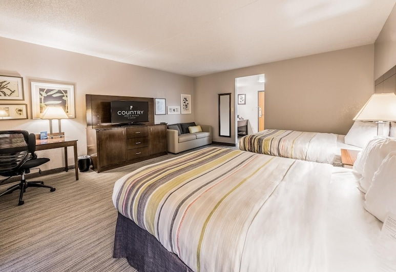 Country Inn & Suites by Radisson, Cookeville, TN, Cookeville, Studio Suite, Multiple Beds, Non Smoking, Guest Room
