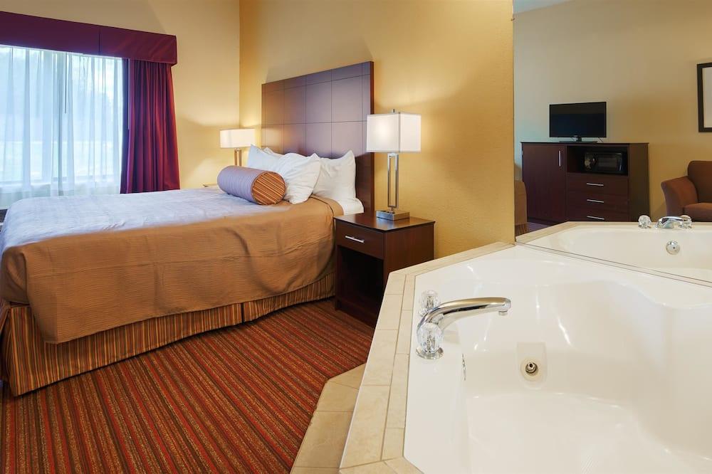 Štandardná izba, 1 extra veľké dvojlôžko, nefajčiarska izba, masážna vaňa - Hosťovská izba