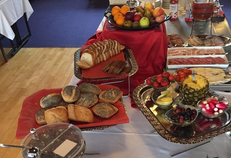 Taars Hotel, Taars, Área para desayunar