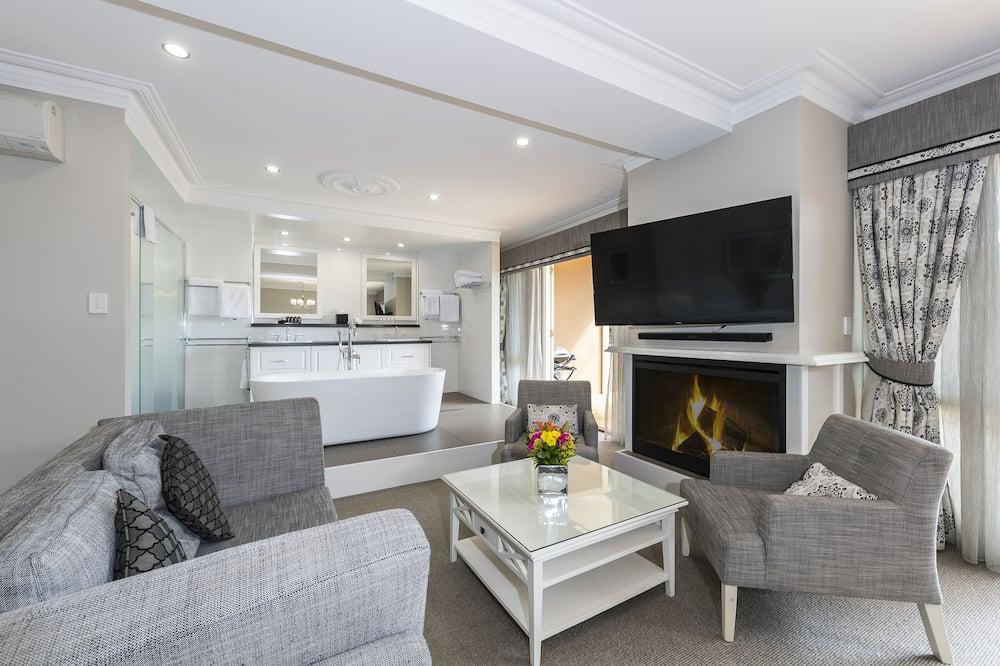 Executive-Zimmer, Nichtraucher, Balkon (Executive Suite) - Wohnbereich