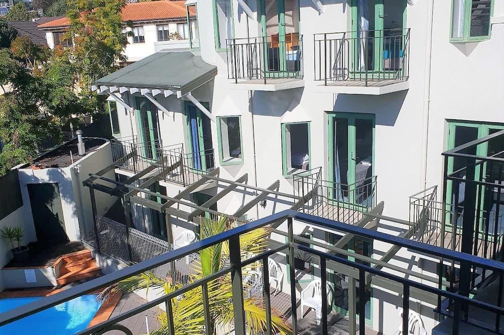 Семейная студия (Penthouse) - Вид с балкона