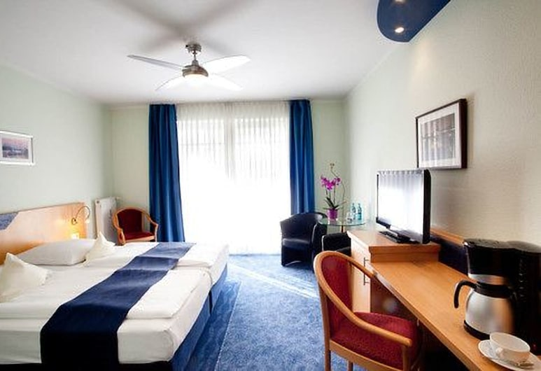 Hotel Hanseport Hamburg, המבורג, חדר סופריור, חדר אורחים