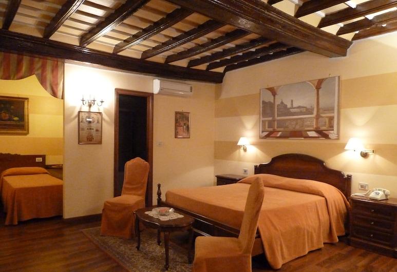 Hotel Dogana Vecchia, Torino, Quadrupla Comfort, Camera