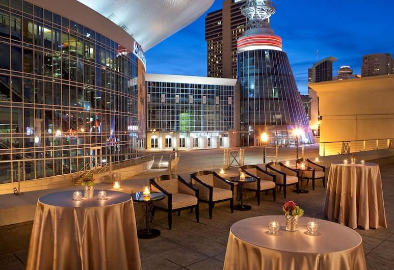 Hilton Nashville Downtown, Nashville, Terasa