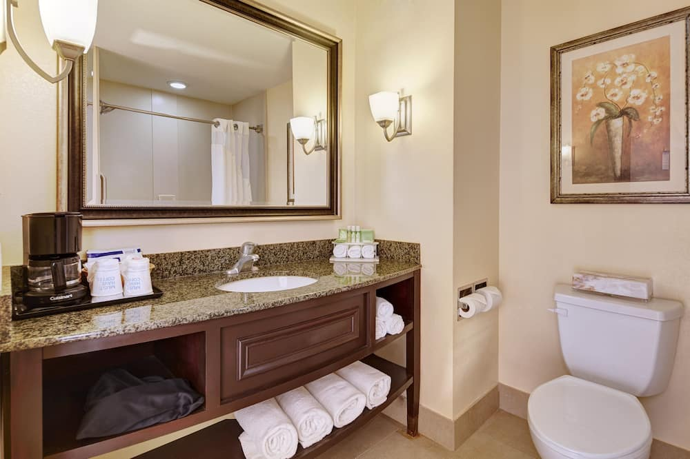 Suite - flere senge (With Living Area) - Badeværelse