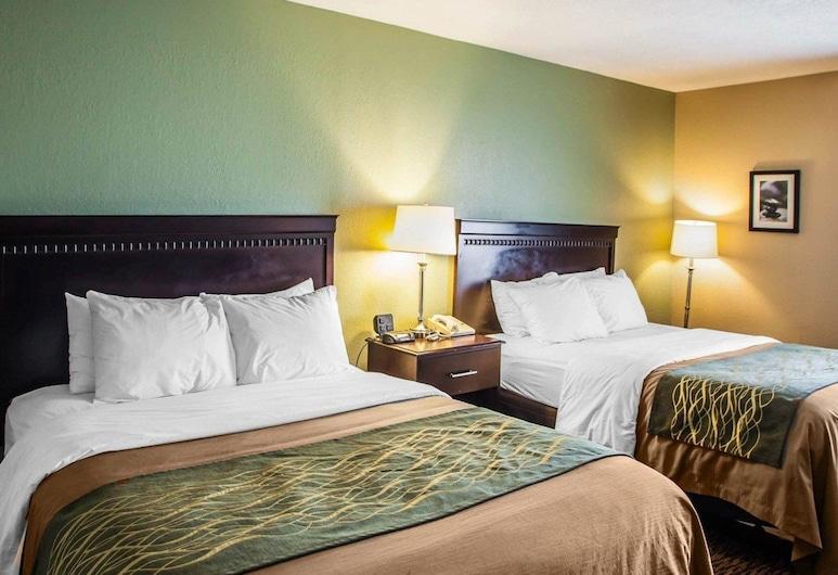 Quality Inn Belton - Kansas City South, Belton, Zimmer, 1 Queen-Bett, Zimmer