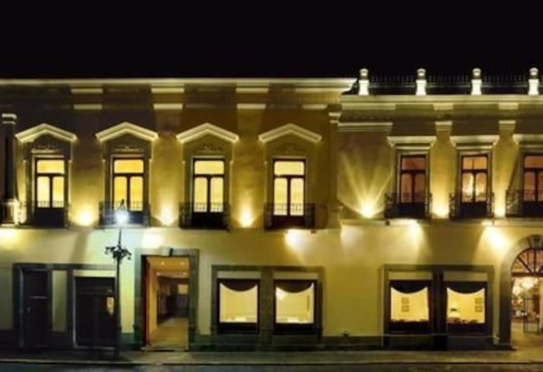 Hotel Palacio San Leonardo, Puebla, Voorkant hotel