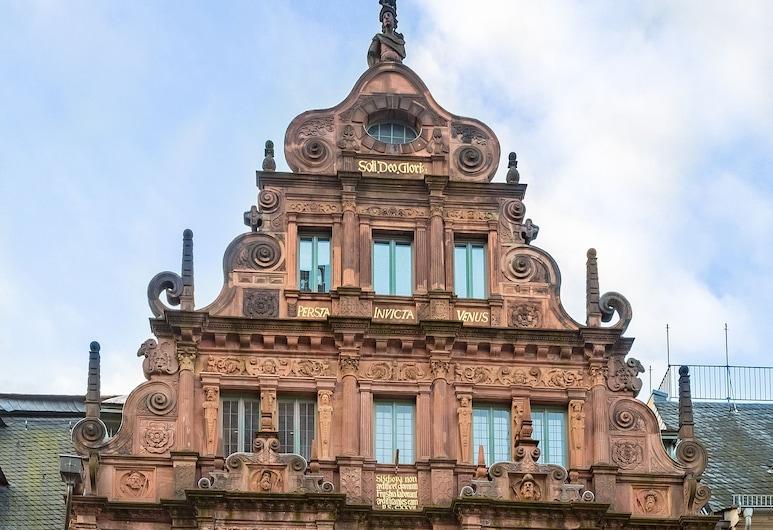 Hotel Zum Ritter St. Georg, Heidelberg, Hotelfassade