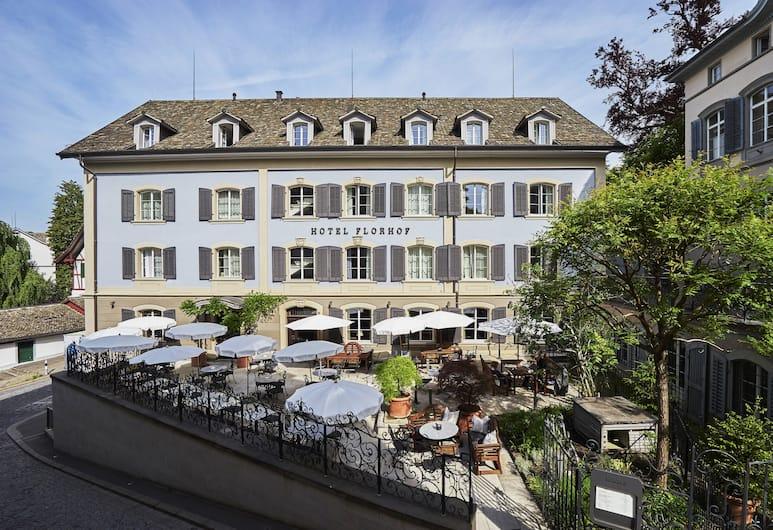 Hotel Florhof, Zurych, Taras/patio