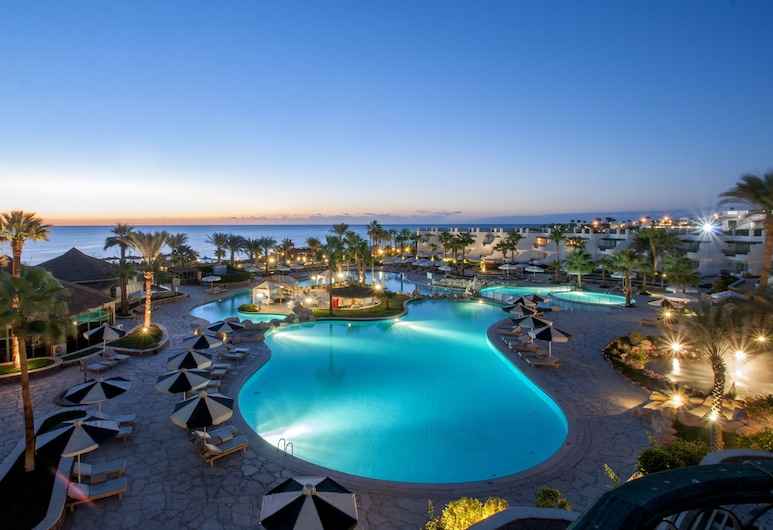 Hilton Sharm Waterfalls Resort, Sharm el Sheikh, Välibassein