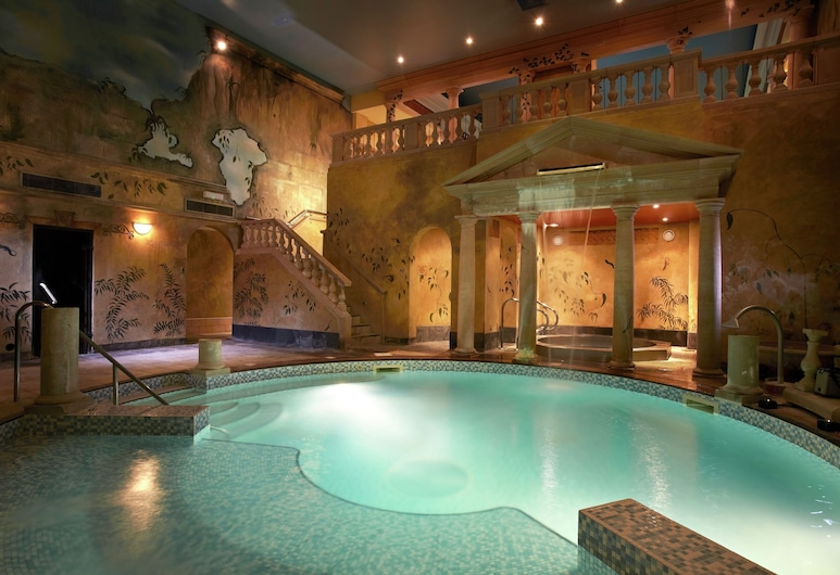 Rowhill Grange Hotel & Utopia Spa, Dartford, Καταρράκτης στην πισίνα