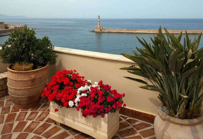 Pandora Suites, Chania, Terrace/Patio
