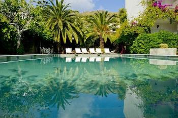 Fotografia do Skala Hotel em Patmos