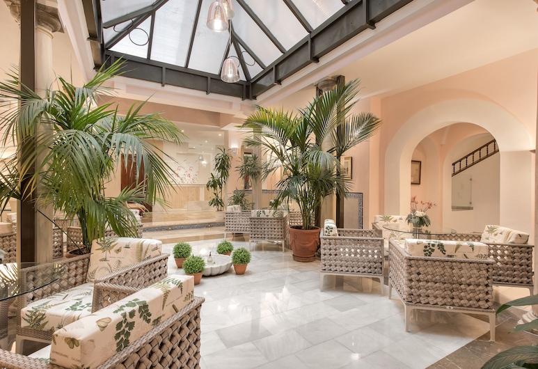 Hotel Anacapri, Granada, Sitzecke in der Lobby