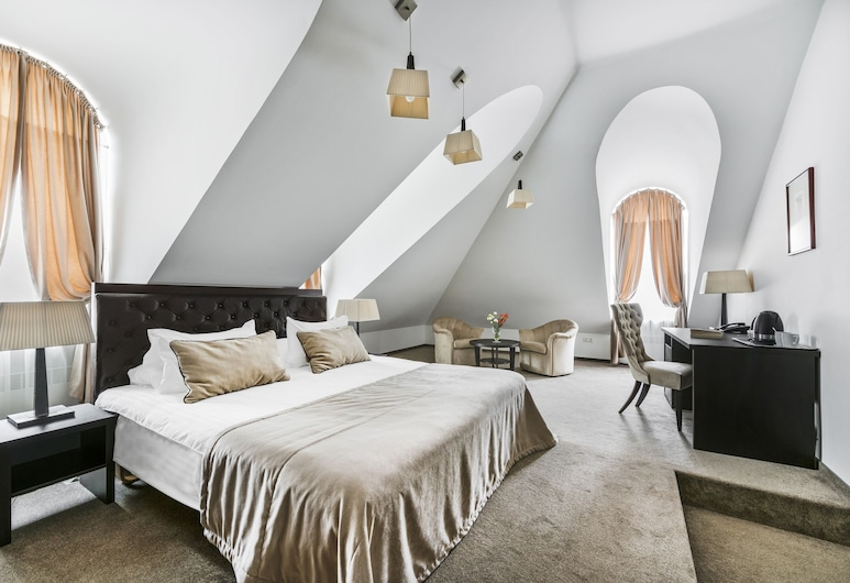Amberton Cozy Hotel Kaunas, Kaunas, Chambre Double Deluxe, Chambre