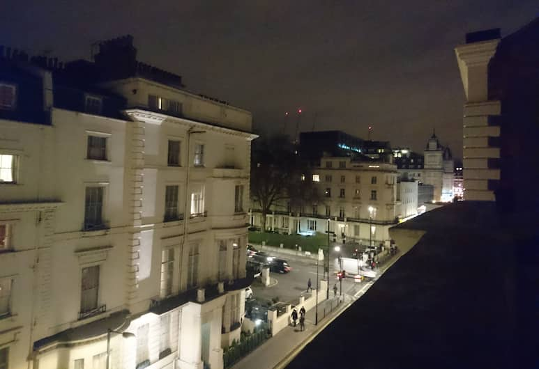 Mina House Hotel, Londres, Vue depuis l'hôtel