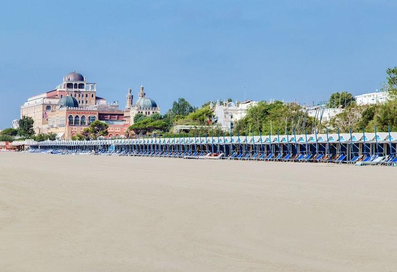 Hotel La Meridiana, Venedig, Strand