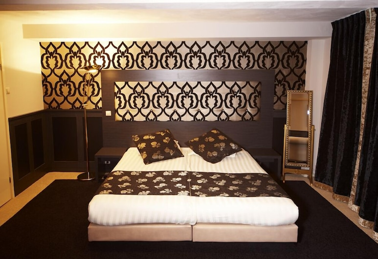 Hotel Blyss, Amsterdam, Dobbeltværelse med dobbeltseng eller 2 enkeltsenge, Værelse