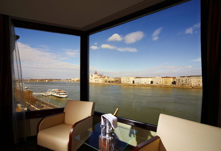 Boutique Hotel Victoria Budapest, Budapest, Double or Twin Room, River View, Guest Room