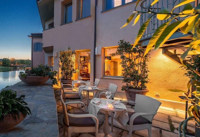 Hotel Ville sull'Arno, Florencie, Zahrada