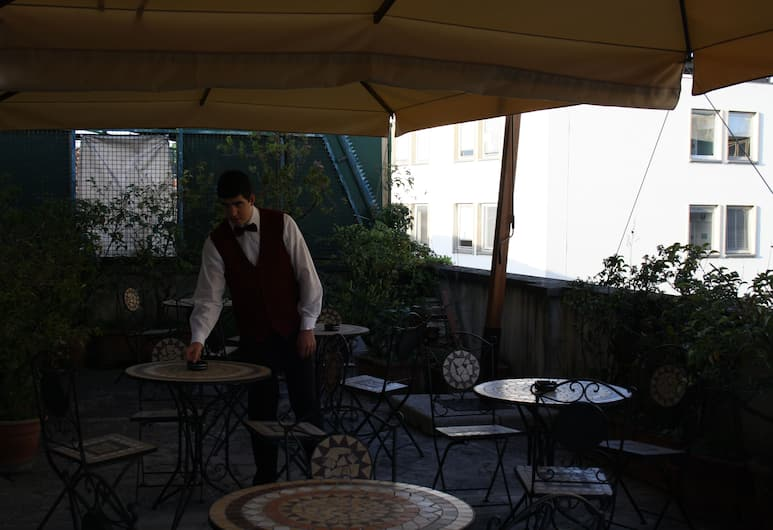 Hotel Bodoni, Florence, Terras
