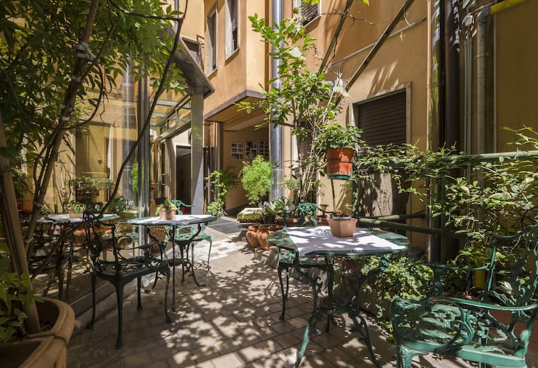 Hotel Carrobbio, Milaan, Tuin