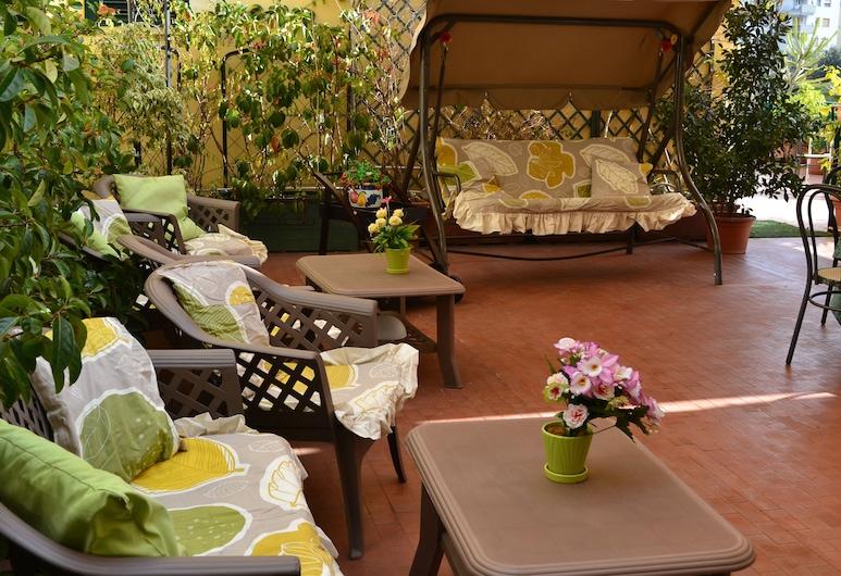 Hotel Cesare Augusto, Napoli, Terrasse/veranda