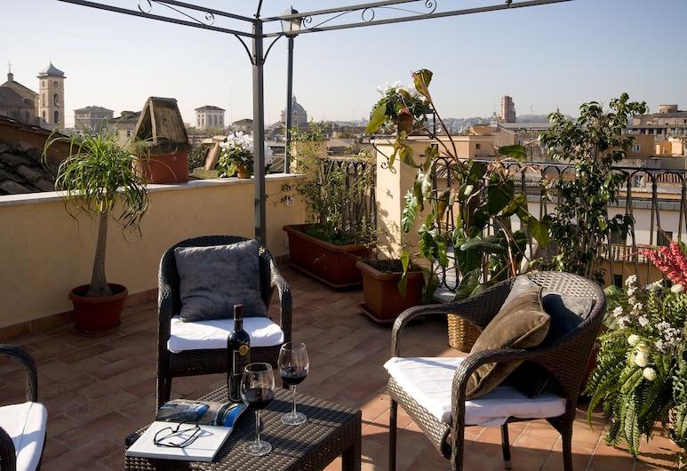 Hotel Trevi, Rome, Chambre Supérieure Double ou avec lits jumeaux, dans les dépendances, Chambre