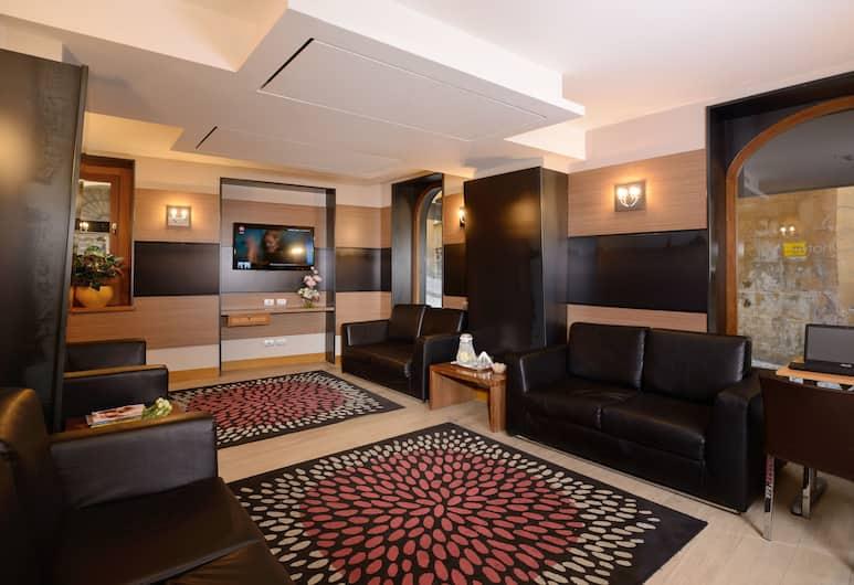 Hotel Trevi, Rom, Siddeområde i lobby