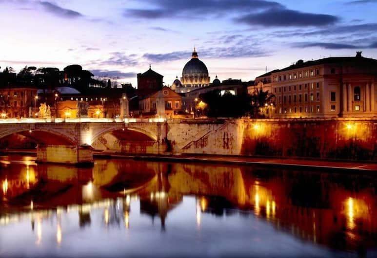 호텔 산탄젤로, 로마, 호텔에서의 전망