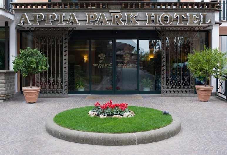 Appia Park Hotel, Rome, Hotel Front