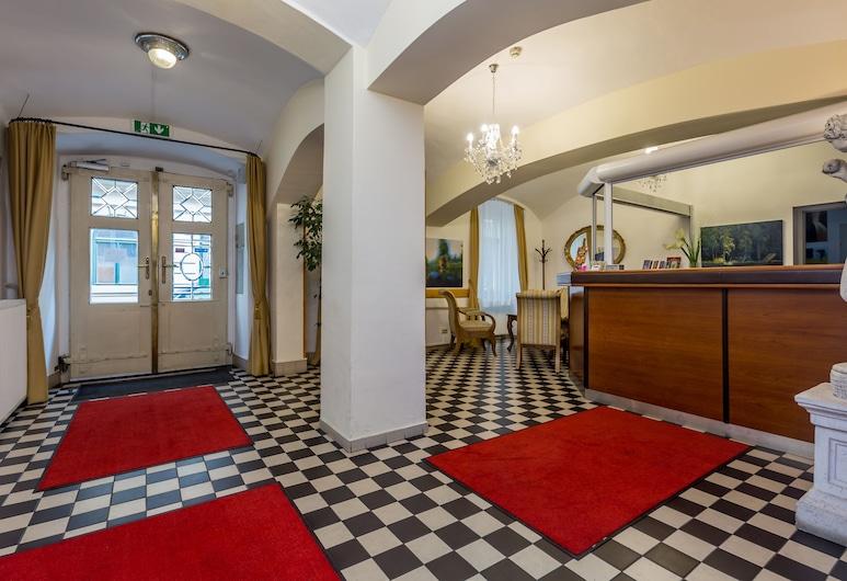Hotel Graf Stadion, Viena, Saguão