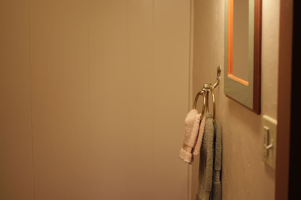 Standardværelse - 1 queensize-seng (Room 6) - Badeværelse