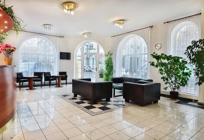 Hotel Attic, Praga, Wejście wewnętrzne