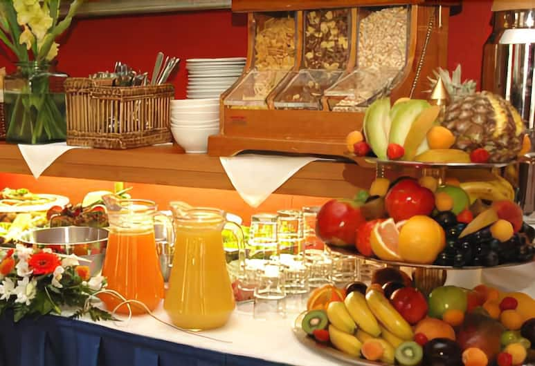 Hotel Aron, Praga, Área do café da manhã
