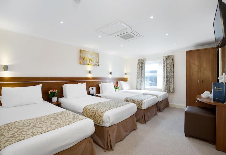 Park Avenue Bayswater Inn Hyde Park, London, Standard-Vierbettzimmer, Zimmer