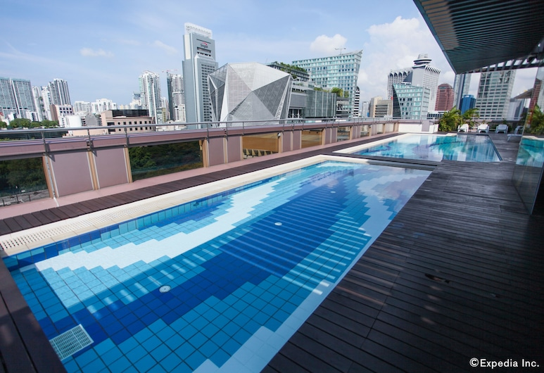 Hotel Grand Central (SG Clean, Staycation Approved), Singapore, Þaksundlaug