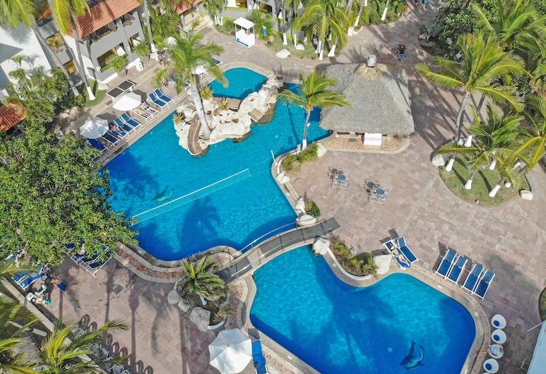 Luna Palace Hotel and Suites, Mazatlan, Kolam