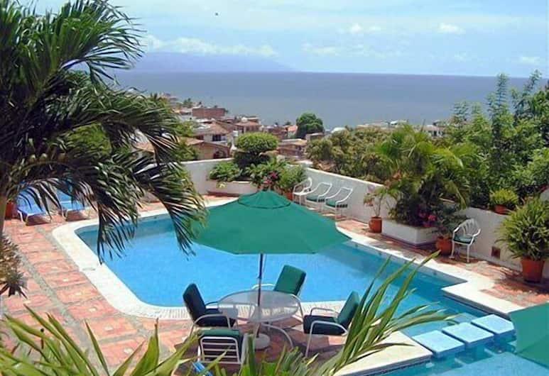 Hotel Suites La Siesta, Puerto Vallarta, Utomhuspool