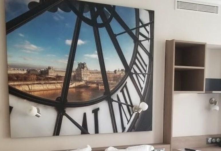 Hotel Astrid, Paris, Tremannsrom – deluxe, Gjesterom