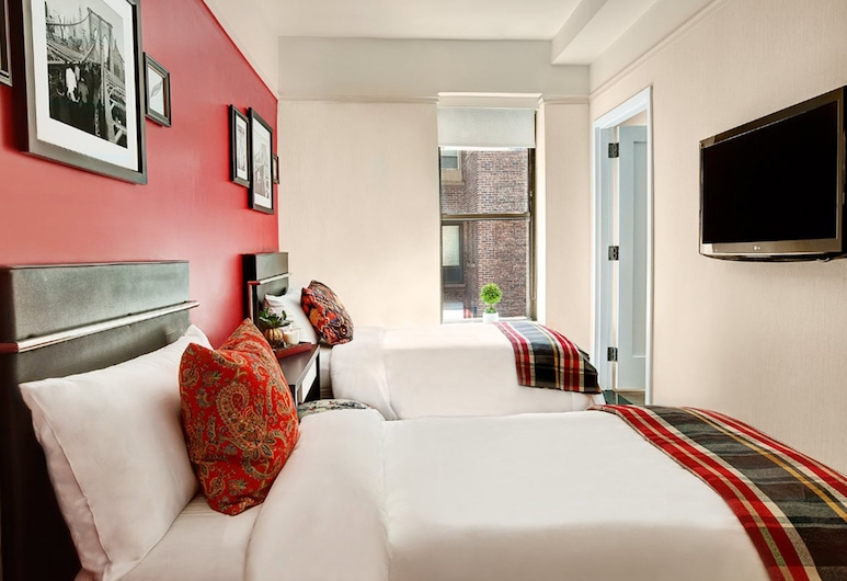 The Redbury New York, New York, Deluxe Room, 2 Double Beds, Guest Room