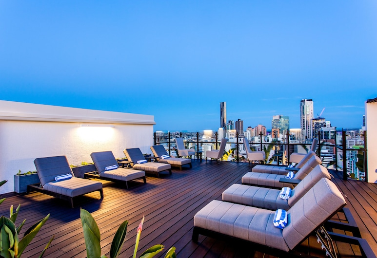 Hotel Grand Chancellor Brisbane, Spring Hill, Rooftop Pool