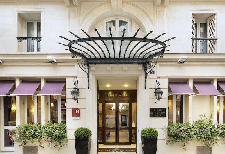 巴黎瑪麗皇后酒店, 巴黎, 酒店入口