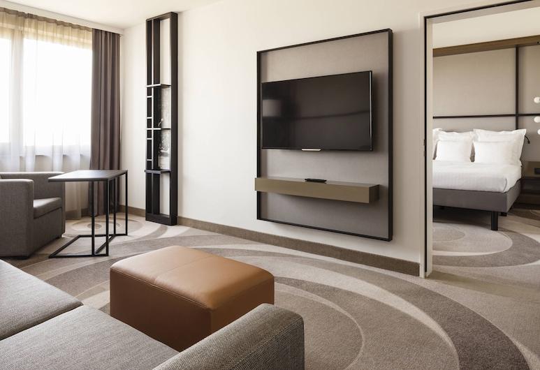 Stuttgart Marriott Hotel Sindelfingen, Sindelfingen, Phòng Executive, 1 giường cỡ king, Không hút thuốc, Phòng