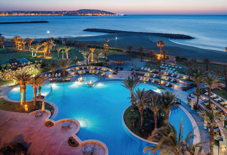 Movenpick Hotel & Casino Malabata Tanger, Tânger, Quarto Executivo, 1 cama king-size, Vista Mar, Vista para a Praia/Oceano