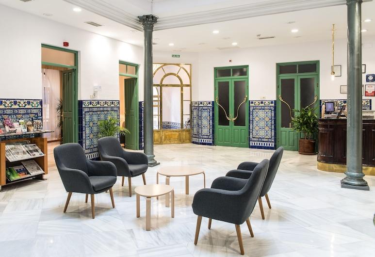 Hotel Inglaterra, Granada, Prostor za sjedenje u predvorju
