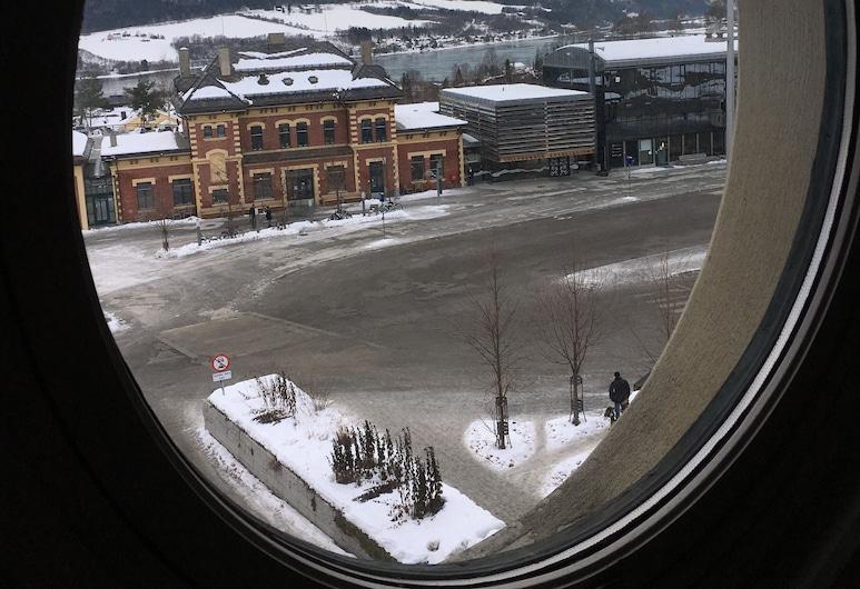First Hotel Breiseth, Lillehammer, Tomannsrom – economy, 2 enkeltsenger, Utsikt fra gjesterommet