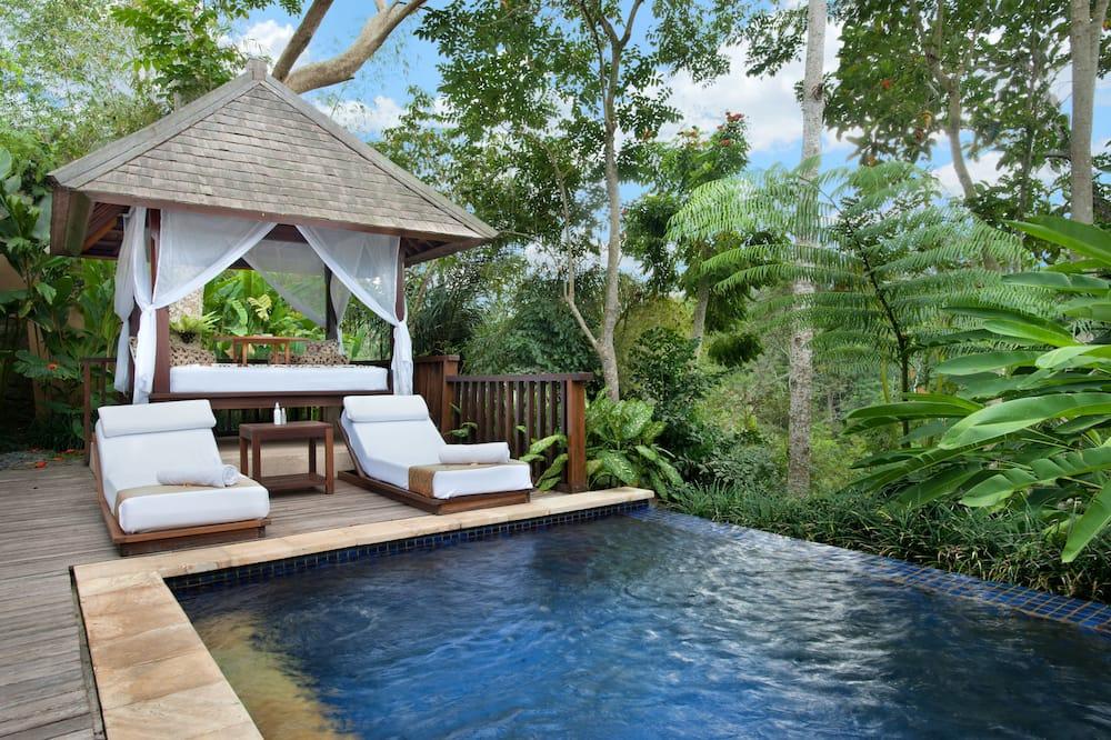 Valley Pool Villa with 1x Lunch in Timur Kitchen - สระว่ายน้ำกลางแจ้ง